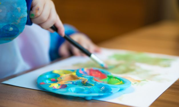 Crafts with Kids Made Easy with Favorite Art Time Supplies