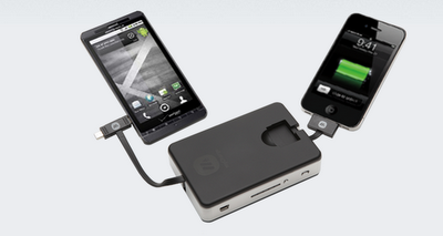 The Portable Power Bank 6000 Keeps Devices Charged on the Road