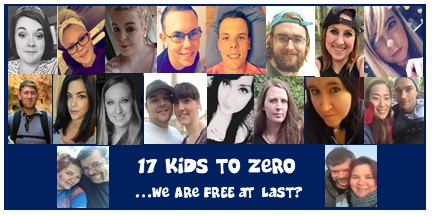 17 Kids to Zero…Are We Free at Last?