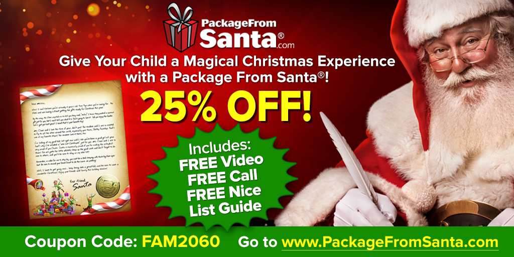 Delight Your Child with a Package from Santa