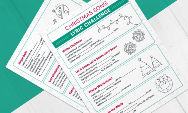 Fun Printable Christmas Games for the Family