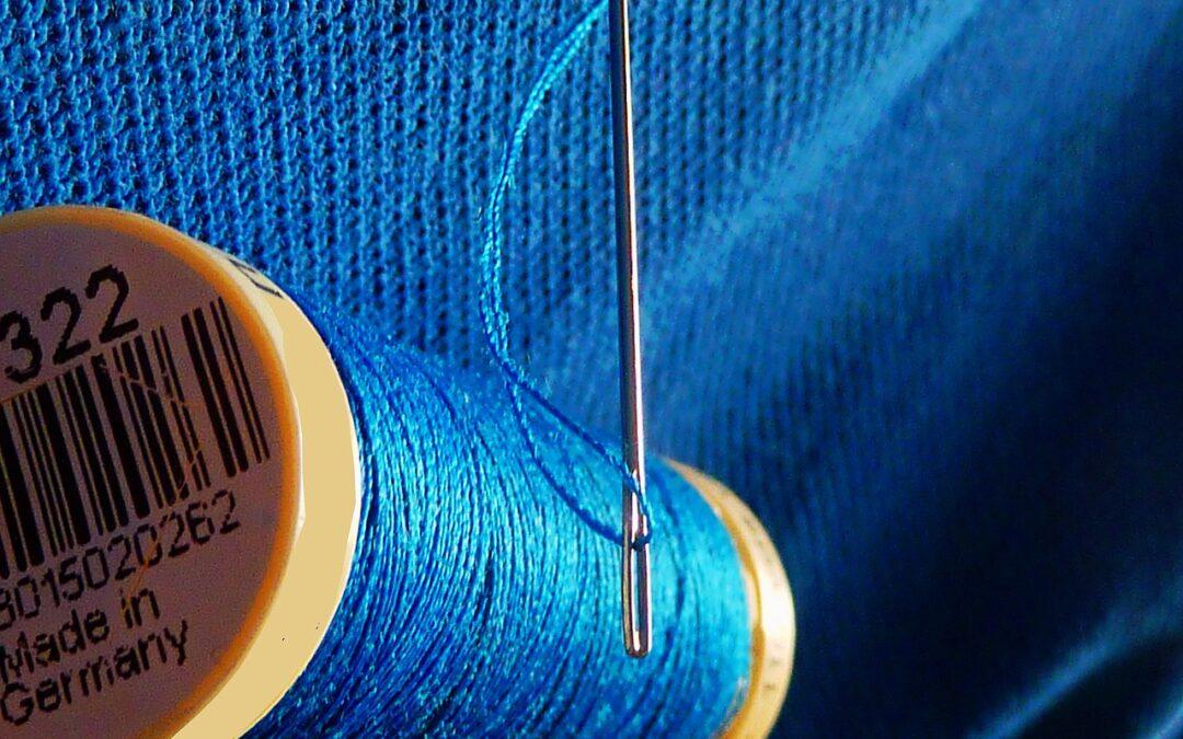 teach kids sewing to teach mindfulness